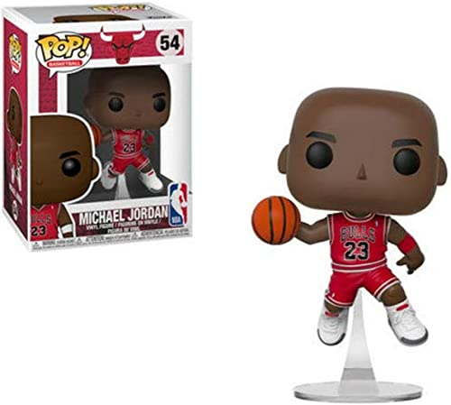 Funko- Pop Vinyl: NBA: Bulls: Michael Jordan Figurine de Collection, 36890, Multicolore