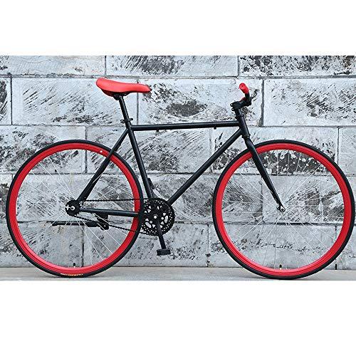 YXWJ Bici de la Bicicleta de montaña de 26 Pulgadas de aleación de Aluminio de Cuadro Variable Velocidad Doble Disco Frenos Bicicletas (Color : UN)