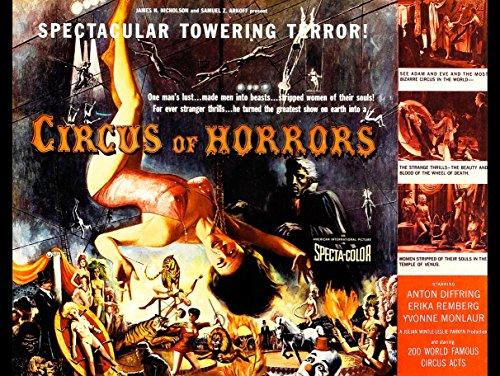 Wee Blue Coo Prints Movie Film Circus Horror Vampire Trapeze Tiger Terror Knife USA New FINE Art Print Poster Picture 30x40 CMS Film Zirkus Grusel Vereinigte Staaten von Amerika Kunstdruck Bild