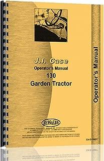 case 130 garden tractor