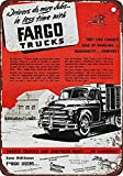Vvision Fargo Trucks Die Kunst Eisen malerei Zinn