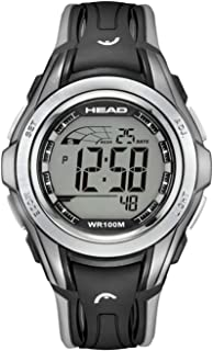 Winner Men & Women Sport Watch 10ATM Waterproof and Shock Resistant. Chronograph with Split, Timer, Alarm and Second Time Zone. Pefrect for Travel and Hiking. Designed in Italy