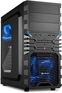 Sedatech PC Gaming Advanced AMD A10-8750 4X 3.6Ghz, Geforce GTX 1050Ti 4Gb, 8 GB RAM DDR3, 1Tb SSD NVMe M.2 PCIe, 3Tb HDD. Ordenador de sobremesa, Win 10