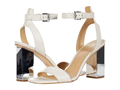 MICHAEL Michael Kors Petra Ankle Strap (Light Cream) Women