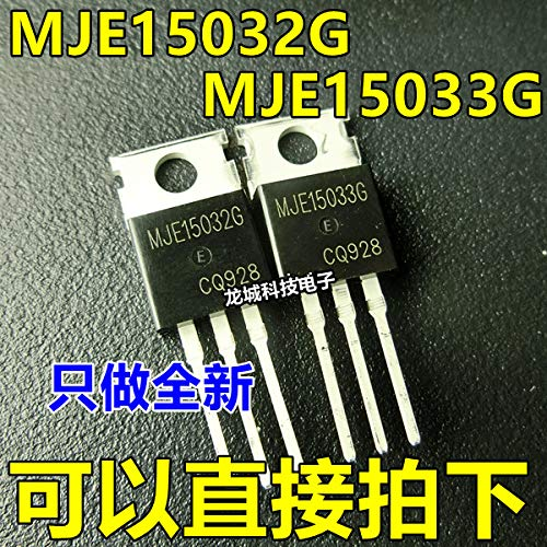 5pcs/lot lot IC T-Shirt,5pcs MJE15033G + 5pcs MJE15032G MJE15033 MJE15032 in Stock