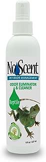 No Scent Reptile - Professional Pet Waste Odor Eliminator Cleaner - Safe All Natural Probiotic & Enzyme Formula Smell Remover Tanks Terrariums Enclosures Substrates