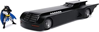 Jada Toys 1: 24 Scale Animated Series Batmobile Diecast Vehicle with Batman Figure
