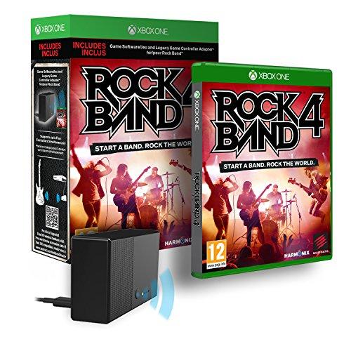Rock Band 4 With Adapter [Importación Inglesa]
