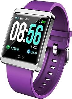 Y13 Smart Horloge Bloeddruk Hartslag Monitor IP68 Fitness Armband Horloge Mannen Dames Smartwatch Voor Ios Android