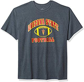 Elite Fan Shop NCAA Mens Football T-Shirt Dark Heather