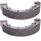 OCPTY Brake Shoes Fit for 2000 2001 2002 2003 2004 2005 2006 Honda Rancher 350 TRX350FM 4x4 S/TRX350TE 2x4 ES