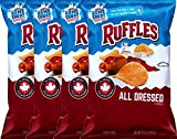 Ruffles All Dressed Flavored Potato Chips 8.5 oz (4)
