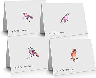 12 x Eenvoudige Premium notitiekaarten gemaakt van gerecycled papier