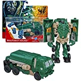 Hasbro Year 2013 Transformers Movie Series 4 'Age of Extinction' One Step Changer 5 Inch Tall Robot Action Figure - AUTOBOT HOUND (Vehicle Mode: Oshkosh Defense Medium Tactical Vehicle)