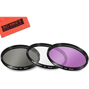 Microfiber Cleaning Cloth for Sony Alpha NEX-5 CPL 55mm Circular Polarizer Multicoated Glass Filter