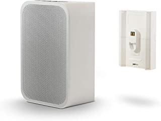Bluesound Pulse Flex 2i + BP100 Battery Pack Bundle – White - Compatible with Alexa and Siri