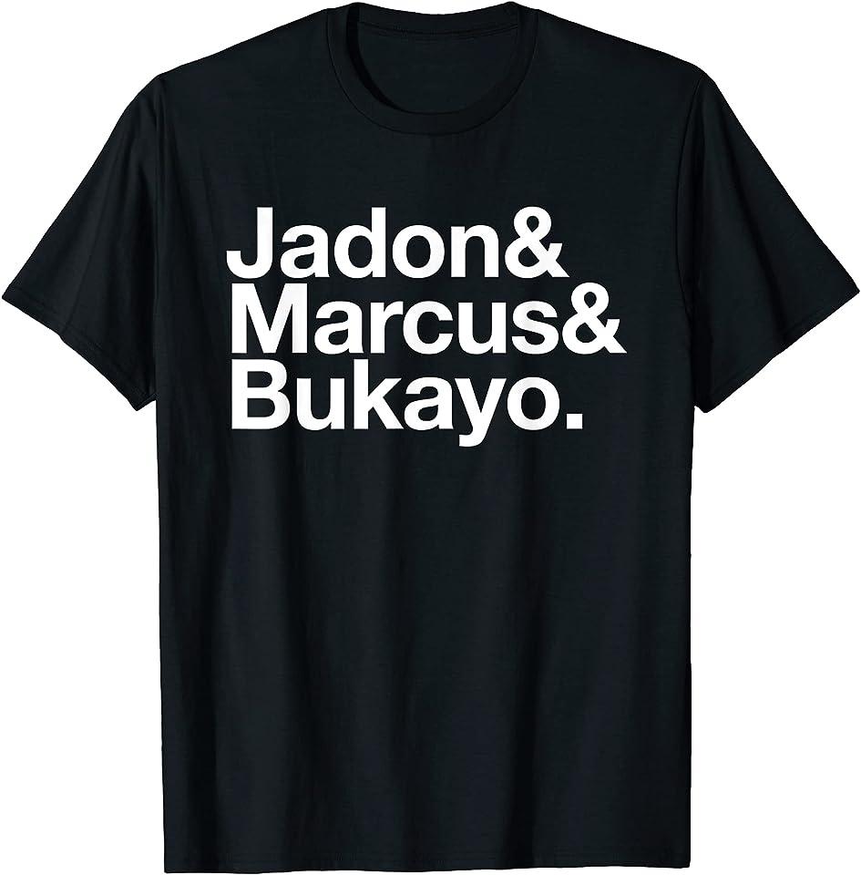 Jadon Marcus Bukayo England Football Soccer Anti Racism List T-Shirt