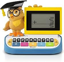 Singing Machine Kid's SMK168 Wise Old Owl Blackboard Calculator