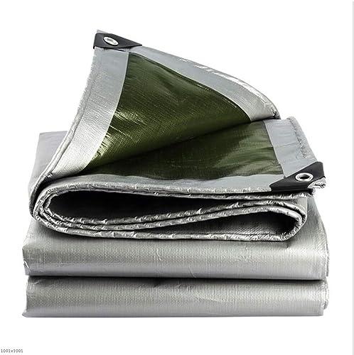 Bache épaissie Multifonctionnel Balcon écran Solaire Extérieur Imperméable Tissu en Plastique Coupe-Vent Plusieurs Tailles Peuvent être Personnalisés GMING (Taille   3x6m)