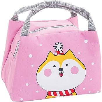 Oyachic Bolsa Termica Bolsas de Almuerzo Lunch Bag Linda Mascota Bolsas de Cremallera Bolsa de Tela Algodon Merienda Impermeable Port/átil oso polar