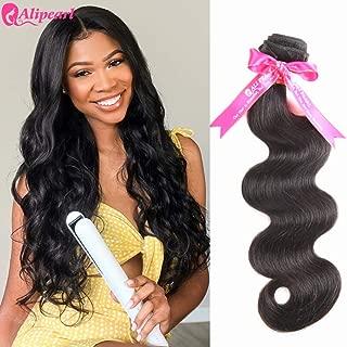 Alipearl Hair 8A Brazilian Human Hair Bundles Body Wave Human Hair Extension Natural Black Ali Pearl Hair(16)
