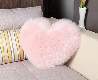Sleep Allure Heart Shaped Throw Pillow (Pink)