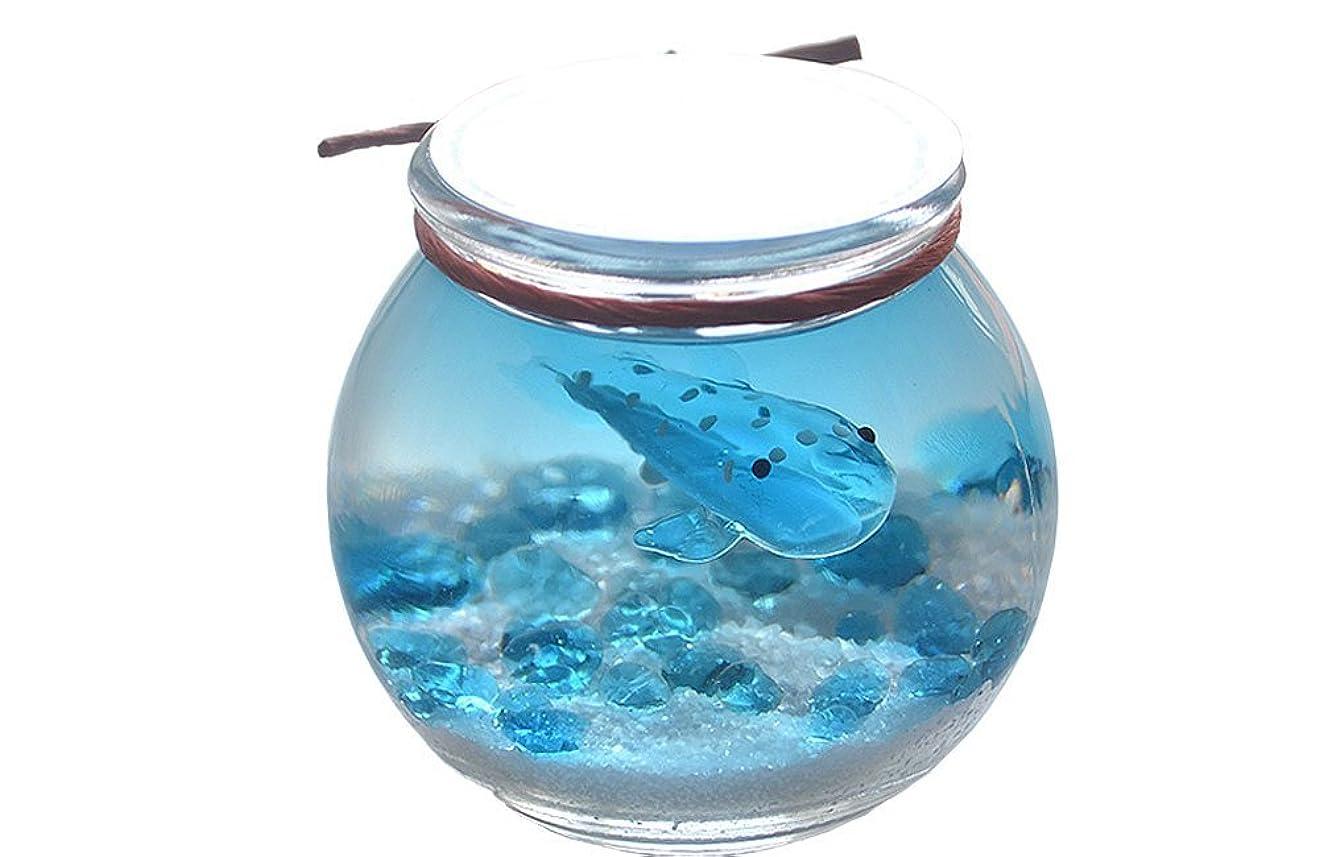 小石スケートそっとカメヤマキャンドルハウス あくありうむ ゼリーフレグランス サメ