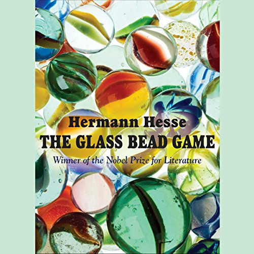 The Glass Bead Game audiobook cover art
