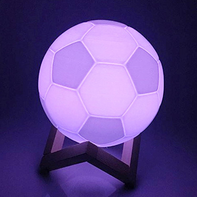 LED Wiederaufladbare WELSUN Nachtlampe Schlafzimmer 10CM ...