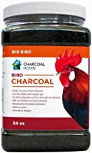 2qts Granular Bird Charcoal for Chickens & Large birds, Digestion, feed supplement, Scratch For Poultry, pigeons, parrots, turkeys, and others,