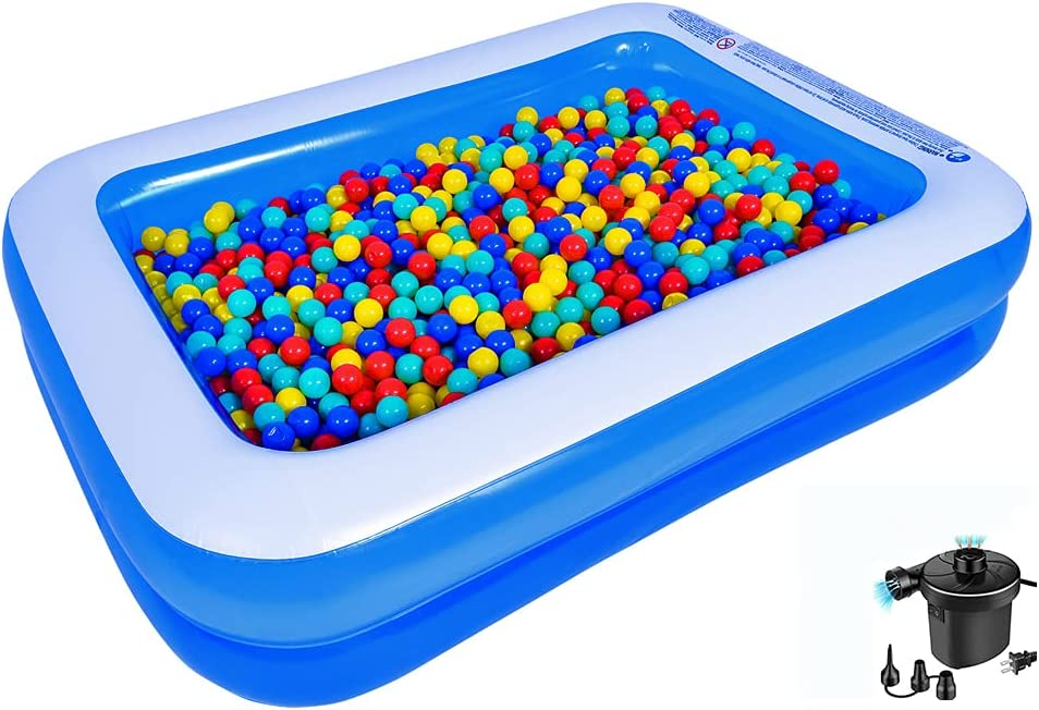 Family Inflatable Swimming Cheap SALE Start Pool Amocane Pump Limited price 79x59x20 Included