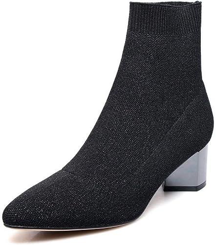 AdeeSu SXE04787, Sandales Compensées Femme - Marron - Marron, 36.5 EU