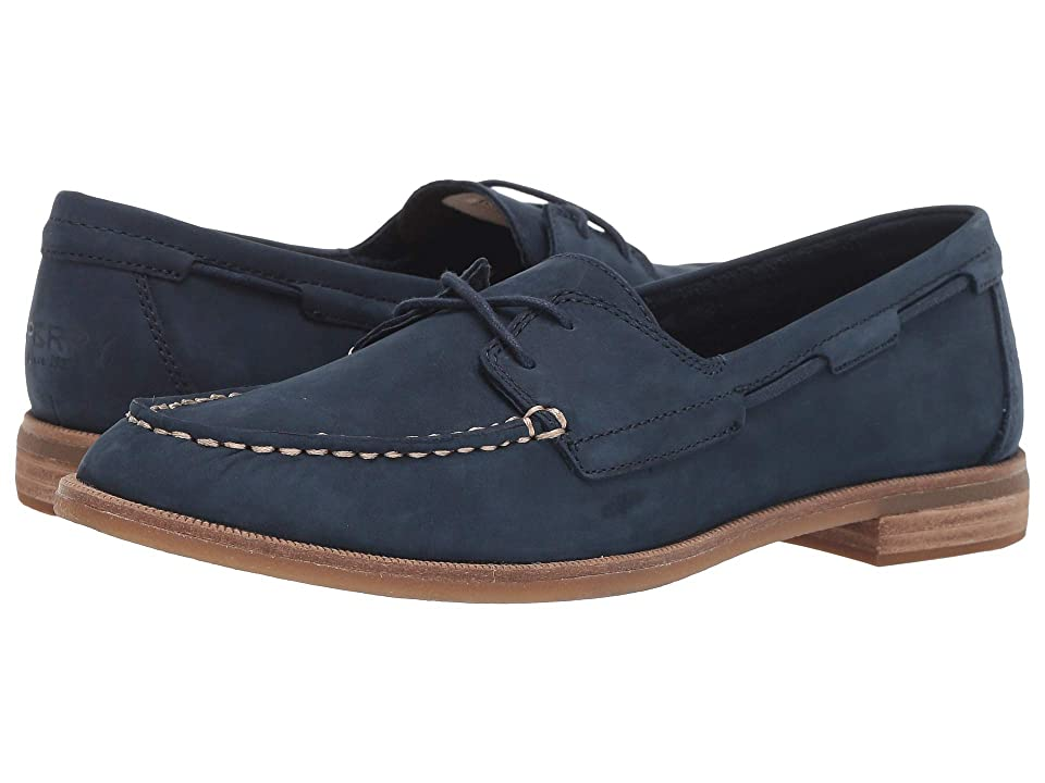 Sperry Seaport Boat (Navy) Women