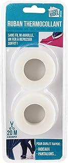 Je Cherche une Idée - CT2003 - Ruban Thermocollant Spécial Ourlet, Blanc - 2 x 10 m