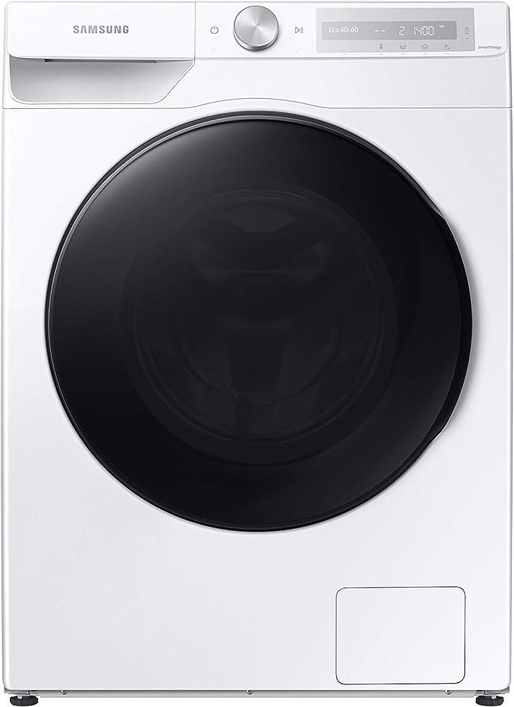 Samsung elettrodomestici wd10t634dbh/s3 lavasciuga 10 kg, 1400 giri, bianco classe e a