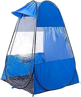 Likary Original Design Outdoor Sports Tent Sun Shelter Weather Pod Single Person Portable Tent Rainproof & Windproof Double Doors Sports Pop Up Tent (Blue)