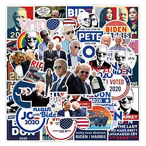 TUHAO Us President Joe Biden Harris Stickers Waterproof Pvc Decals Diy Laptop Luggage Car Skateboard Scrapbook Fridge Phone 50Pcs