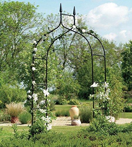 Extra Tall Gothic Arbor Garden Trellis Outdoor Metal Arch For Backyard Patio Rose Garden Yard