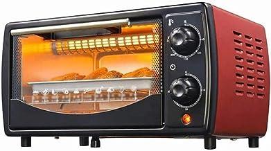 Sdesign Tiempo de Control Mini Horno Hogar 12L Inteligente de múltiples Funciones de Doble Capa Tostadora Horno Eléctrico Pizza Machine Temperatura Ajustable portátil