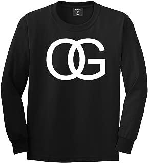 Kings Of NY OG Original Gangsta Gangster Style Green Long Sleeve T-Shirt