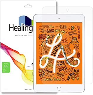 Compatible with iPad Mini 5 / Screen Protector, [1 + 1 Pack], Healing Shield AG Anti-Glare 1-Pack Front & 1-Pack Matte Bac...