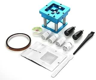 90mm BGA Reballing Solder Repair Rework Station Kit for Computer Video Game + 0.76mm/0.6mm/0.5mm Stencils