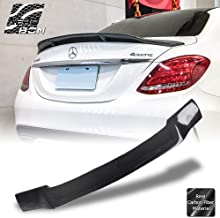 Real Carbon Fiber Trunk Spoiler Wing For Mercedes Benz W205 C63 C-class 2015-17