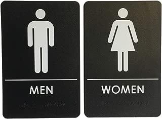 woman restroom signs