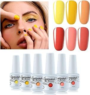 peach nail colour