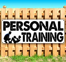 Personal Training 13 oz Heavy Duty Vinyl Banner with 4 Grommets