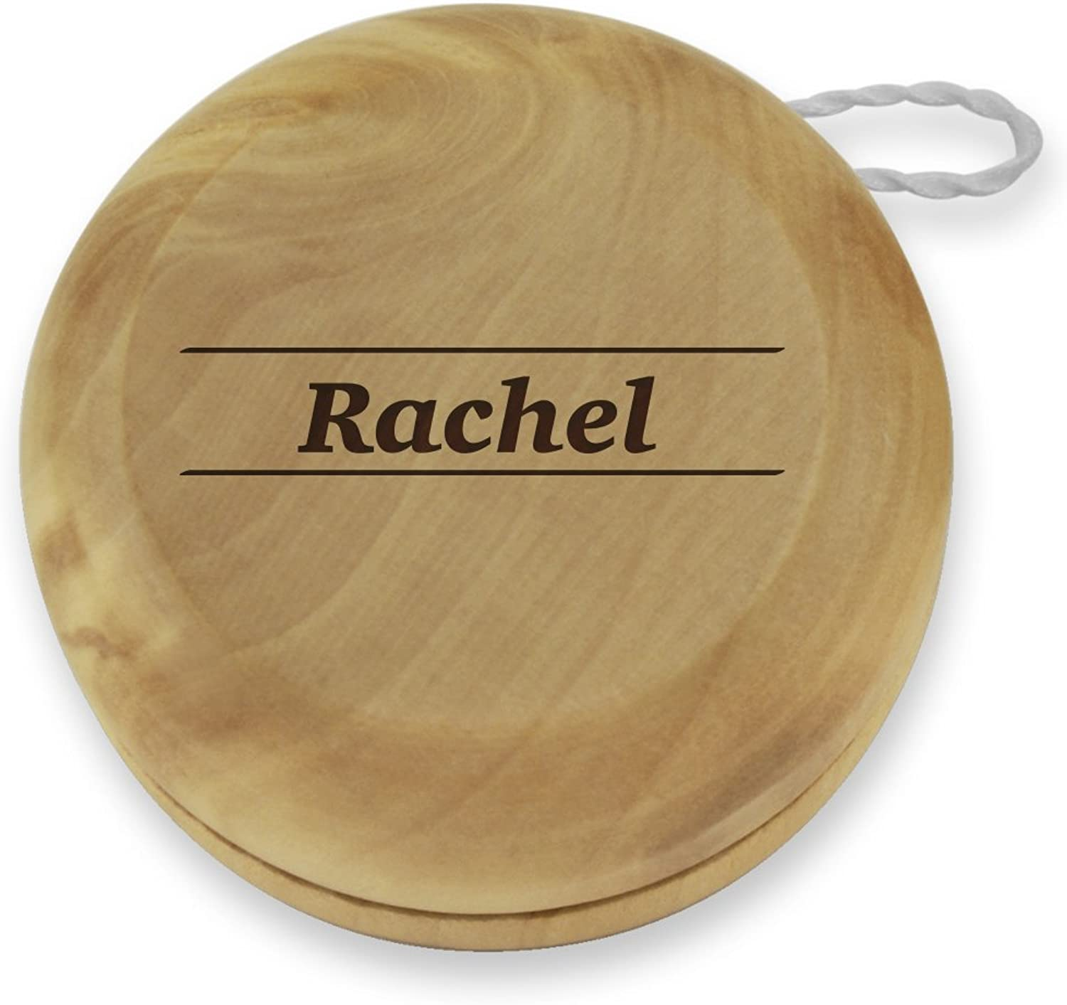 Dimension 9 Rachel Classic Wood Yoyo with Laser Engraving