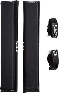 FCS Surf Cam Lock Hard Rack System Roof Racks Black (Pair)