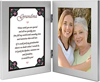 Grandma Gift from Grandchild - Add Photo to Sweet Poem for Grandmother