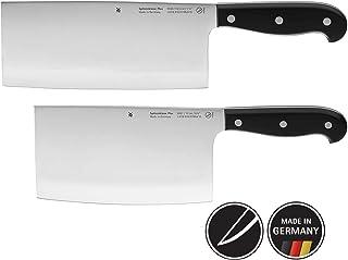 WMF 亚洲刀具套装2件 SPITZENKLASSE Plus 2刀具厨房刀具锻造性能切厨师刀手动食物切碎器